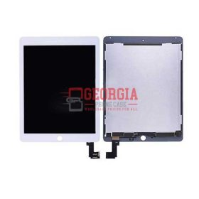 LCD with Touch Screen Digitizer for iPad Air 2 - White (High Quality - Substitute Part)