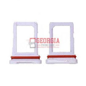 Sim Card Tray for Samsung Galaxy S6 Active G890 - White (High Quality - Substitute Part)