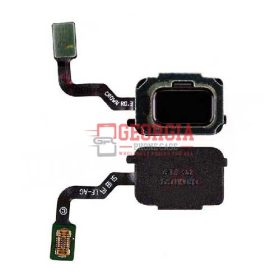 Home Button with Flex Cable,Connector and Fingerprint Scanner Sensor for Samsung Galaxy Note 9 N960 - Black