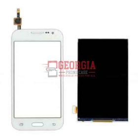 White LCD Digitizer Combined Screen Substitute for Samsung Galaxy Core Prime G360/ G3606/ G3608