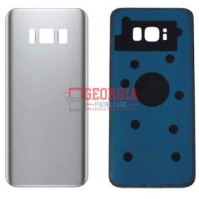 Samsung Galaxy S8 G950 SILVER Back Housing Glass Cover Battery Door
