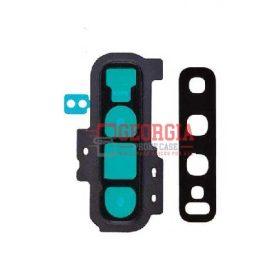Rear Camera Glass Lens and Cover Bezel Ring for Samsung Galaxy S10 Plus G975 - Black