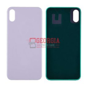 Back Glass Cover for iPhone XS(5.8 inches)- White
