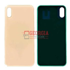 Back Glass Cover for iPhone XS(5.8 inches)- Gold