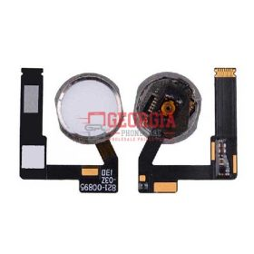 Home Button Connector with Flex Cable Ribbon for iPad Air 3 - White
