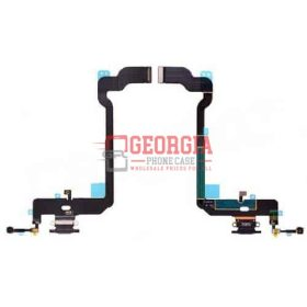 Black Charging Port with Flex Cable for iPhone XS(5.8 inches)