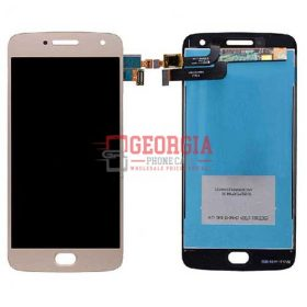 LCD Screen Display with Digitizer Touch Panel for Motorola Moto G5 Plus XT1687(for moto) - Gold (High Quality - Substitute Part)