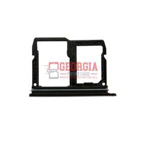Black LG STYLO 4 SIM Card Tray Q710MS Q710CS L713DL (High Quality - Substitute Part)