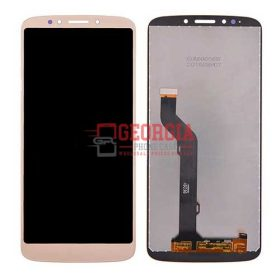 LCD Screen Display with Touch Digitizer Panel for Motorola Moto E5 Plus XT1924 - Gold (High Quality - Substitute Part)