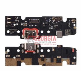 Charging Port with PCB board for Motorola Moto E5 Plus XT1924 (High Quality - Substitute Part)