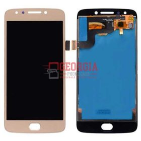 LCD Screen Display with Digitizer Touch Panel for Motorola Moto E4 XT1768 - Gold (High Quality - Substitute Part)