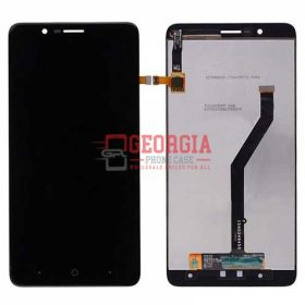 LCD Screen Display with Digitizer Touch Panel for ZTE ZMax Pro 2 - Black (High Quality - Substitute Part)