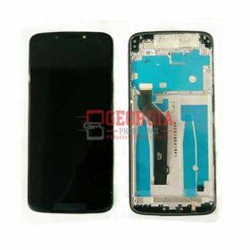 Black LCD Touch Screen Digitizer Frame For Motorola Moto E5 Plus XT1924-6 XT1924-7/8/9