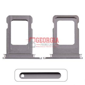 Sim Card Tray for iPhone 11 Pro Max (Single SIM Card Version) – Silver