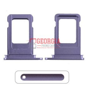 Sim Card Tray for iPhone 11(6.1 inches)(Single SIM Card Version) – Purple