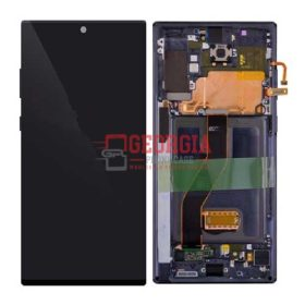 LCD Screen Display with Digitizer Touch Panel and Frame for Samsung Galaxy Note 10 Plus N975 - Aura Black