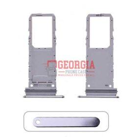 Sim Card Tray for Samsung Galaxy Note 10 N970(Single SIM Card Version) - Silver