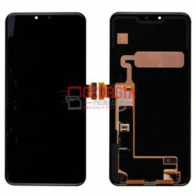 LCD Screen Display with Touch Digitizer with Frame for LG G8 ThinQ LM-G820 - Black