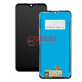 LCD Screen Display with Touch Digitizer Panel with Frame for LG K50 X520 - Black