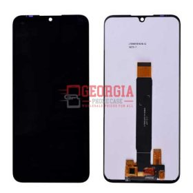 LCD Screen Display with Digitizer Touch Panel for Motorola Moto E6 Plus - Black