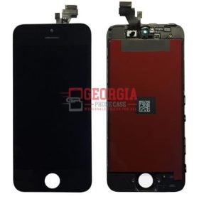 Touchscreen LCD Digitizer Assembly for IPhone 5 - Black (High Quality - Substitute Part)