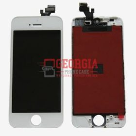 Touchscreen LCD Digitizer Assembly for IPhone 5 - White (High Quality - Substitute Part)