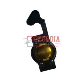 Home Button with Flex Cable Ribbon, Home Button Connector for Iphone 5- Black (High Quality - Substitute Part)