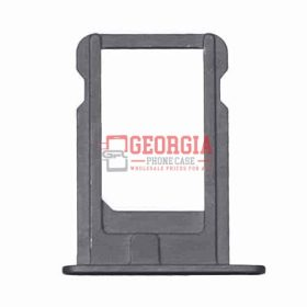 New Black Sim Card Tray Slot Holder Repair Part Substitute For iPhone 5 (High Quality - Substitute Part)