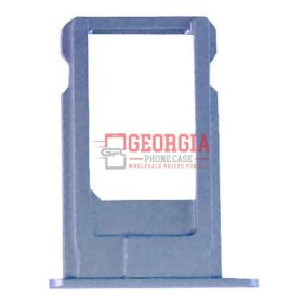 iPhone 6 Space Gray Sim Card Holder Slot Sim Card Tray (High Quality - Substitute Part)