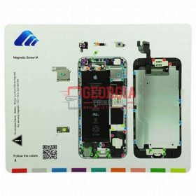 Professional Guide Magnetic Screw Chart for iPhone 6 4.7 (High Quality - Substitute Part)