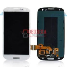 LCD Screen Substitute (No Logo) for Samsung Galaxy S3 I9300 WHITE (High Quality - Substitute Part)