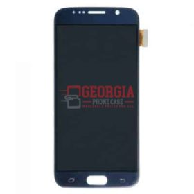 LCD Screen and Digitizer Touch Screen for Samsung Galaxy S6 Blue Sapphire (High Quality - Substitute Part)