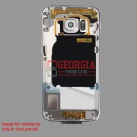 Back Plate for Samsung Galaxy S6 G920 Single Card Version White (High Quality - Substitute Part)