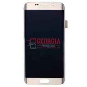 LCD Screen and Digitizer Touch Screen for Samsung Galaxy S6 Edge G925 Gold (High Quality - Substitute Part)