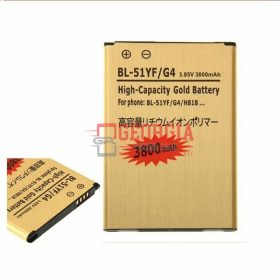 NEW! High Capacity! 3800mAh BL-51YF LG G4 H810 H811 LS991 VS986 US991 Stylo (High Quality - Substitute Part)