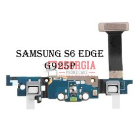 Headphone Jack Charging Charger Port Flex For Samsung Galaxy S6 Edge G925P (High Quality - Substitute Part)