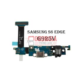 Headphone Jack Charging Charger Port Flex For Samsung Galaxy S6 Edge G925V (High Quality - Substitute Part)