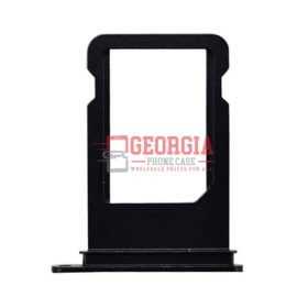 iPhone 7 4.7inch Sim Card Holder Slot Tray Black Substitute (High Quality - Substitute Part)