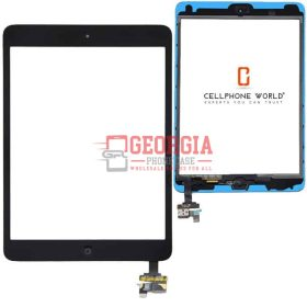 TouchScreen Black Digitizer,IC Chip Home Button, Flex for iPad Mini 1 2(Super Quality) (High Quality - Substitute Part)