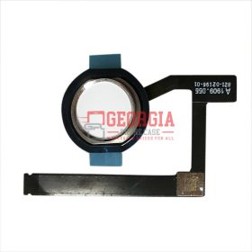 Silver Home Button Connector with Flex Cable Ribbon for iPad mini 5