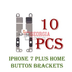 10X iPhone 7 Plus Home Return Button Metal Retaining Bracket (High Quality - Substitute Part)