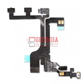 Power Volume Mute Buttons Flex Cable for iPhone 5c