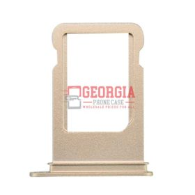 iPhone 7 4.7inch Sim Card Holder Slot Tray Substitute Gold (High Quality - Substitute Part)
