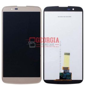 LCD Digitizer Touchscreen Assembly with frame For K10 K410 K420N K428 K430 - Gold