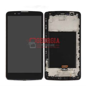 For LG Stylo 2 Plus 4G K550 MS550 LCD Display Screen Touch Digitizer + Frame USA