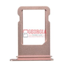 iPhone 7 4.7inch Sim Card Holder Slot Tray Rose Gold Substitute (High Quality - Substitute Part)