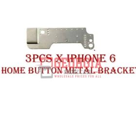 3 pcs x iPhone 6 Metal Home Button Holder Plate Bracket (High Quality - Substitute Part)