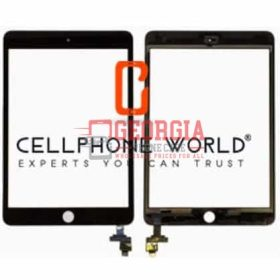 Black Touch Screen Digitizer w/IC Flex+For iPad Mini 3 A1599 A1600(Super Quality)