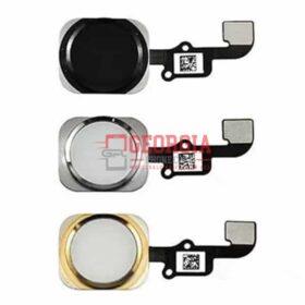 iPhone 6 6 Plus Black Home Return Button Flex Cable