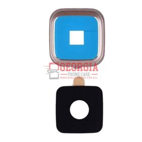 Rear Camera Glass Lens Cover for Samsung Galaxy Note 4 Gold with Adhesives